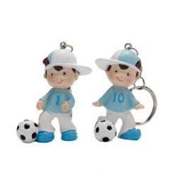 Porte-clés footballeur