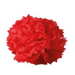 boule crépon rouge