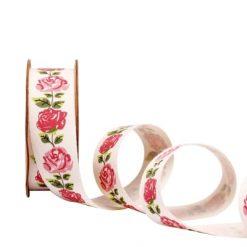 Ruban roses
