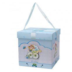 boite baby shower garcon